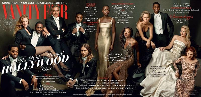 George Clooney, Idris Elba, Jared Leto + More Cover Vanity Fair March Issue