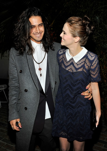 Twisted actor Avan Jogia and actress Zoey Deutch
