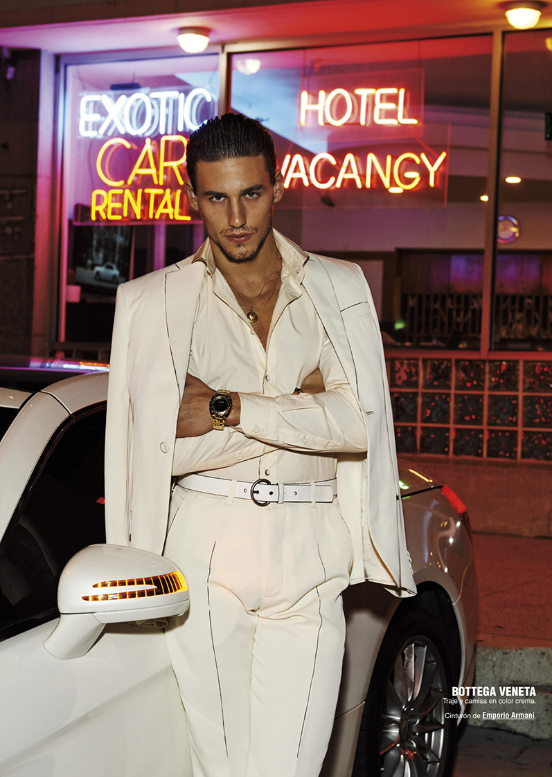 Mariano Ontañon + David Agbodji Don the Summer Collections for Spanish GQ