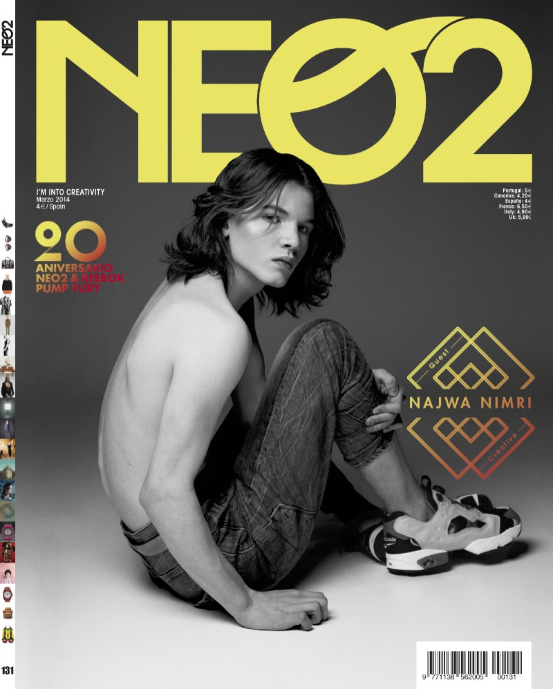 Arran Turton-Phillips is the New Kate Moss for Neo2