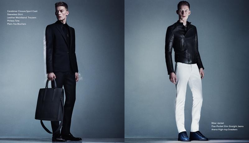 Barneys New York Taps Bastian Thiery to Model Balenciaga Men Spring 2014