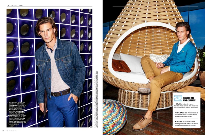 Baptiste Demay is a Man at Work for VIP Magazine