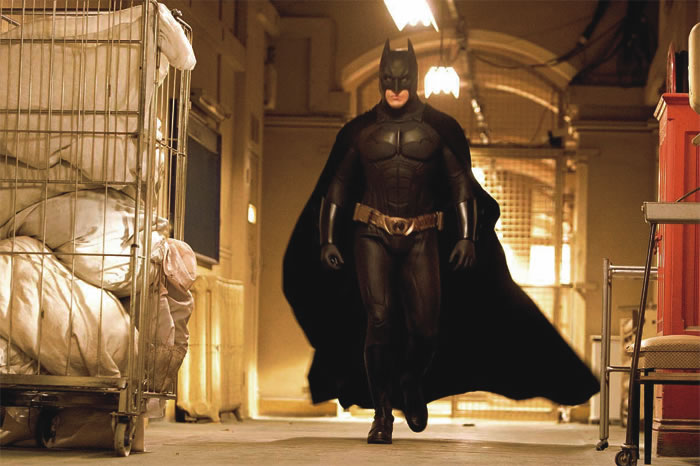 Christian Bale as Batman in Batman Begins (2005)