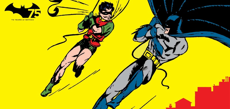 Batman & Robin drawn for Batman #1 by Bob Kane
