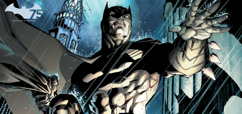Batman drawn by Jim Lee for The New 52 Batman #2