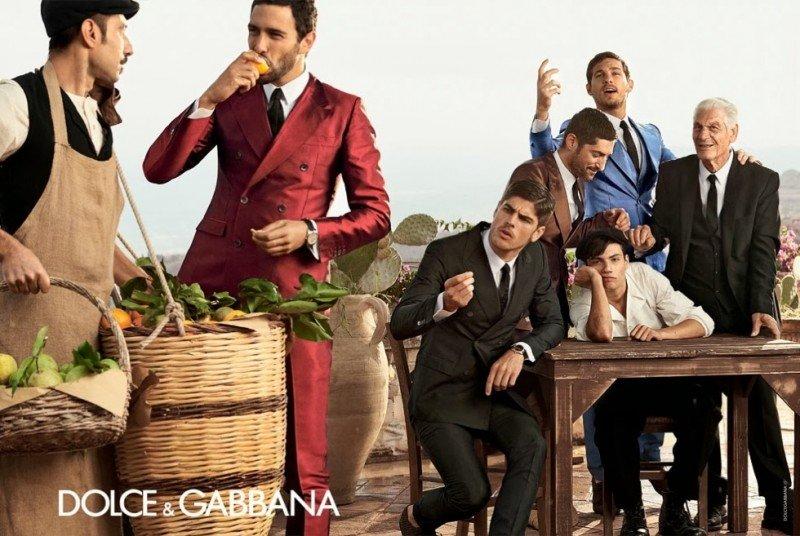 Behind the Scenes   Dolce & Gabbana Men Spring/Summer 2014 Campaign