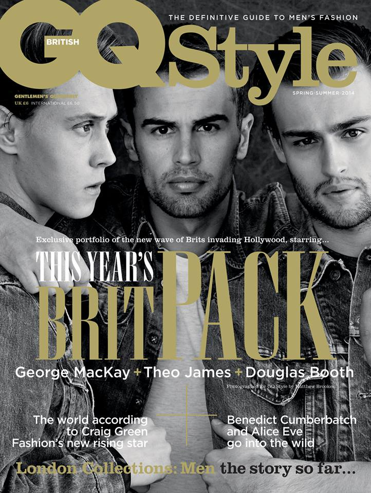 Douglas Booth, Theo James + George MacKay Cover GQ Style UK
