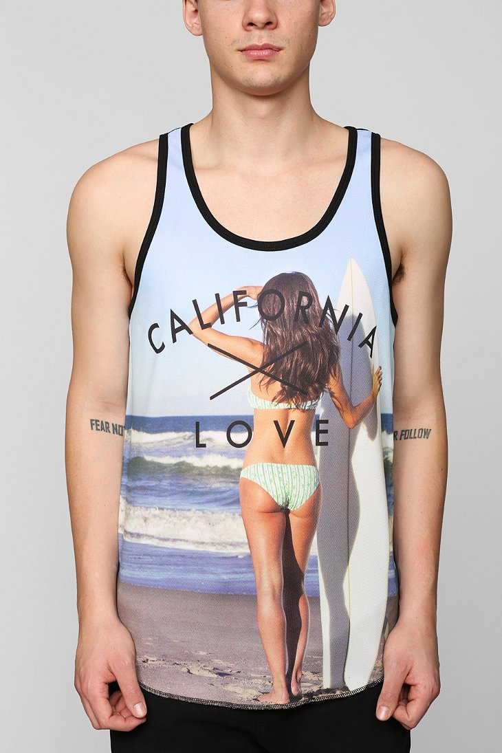 California Mesh Love Tank from Urban Outfitters