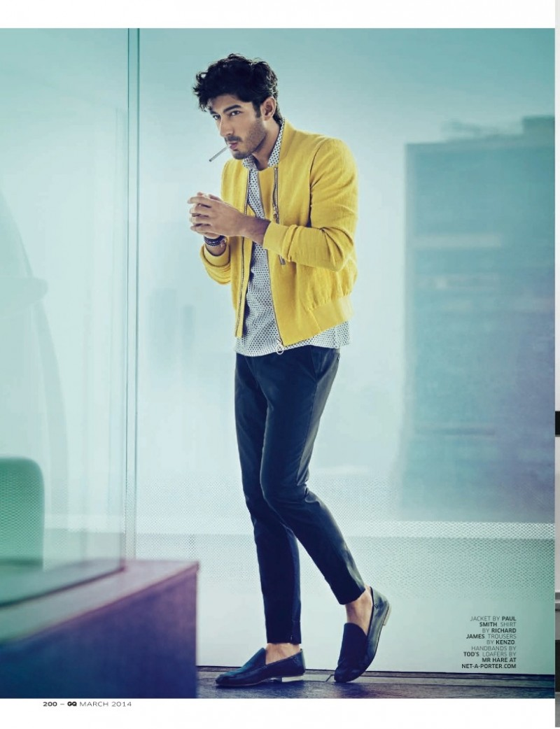 Bollywood Actor Mohit Marwah Dons Playful Spring Fashions ...