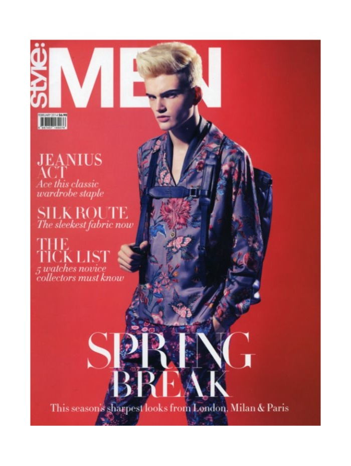 Morris Pendlebury Dons the Spring Collections for Style:Men