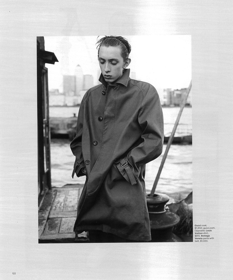 John Whiles + Paul Barge Model Modern Work Clothes for New York Times Style Magazine
