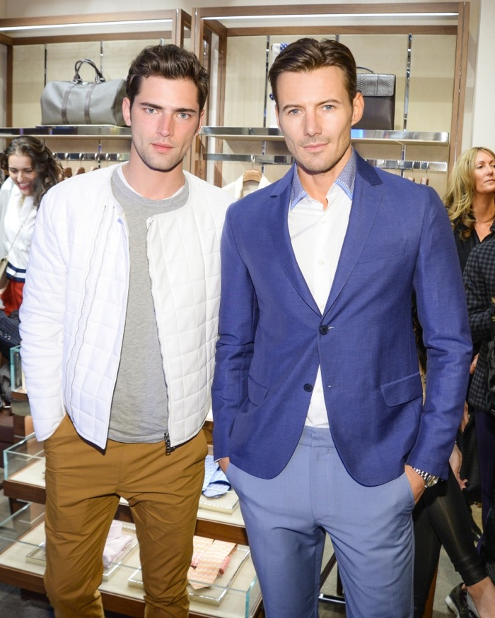 Sean O'Pry and Alex Lundqvist