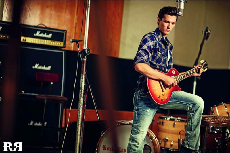 Tyler Riggs Reunites with Rock Revival for its Spring/Summer 2014 Campaign