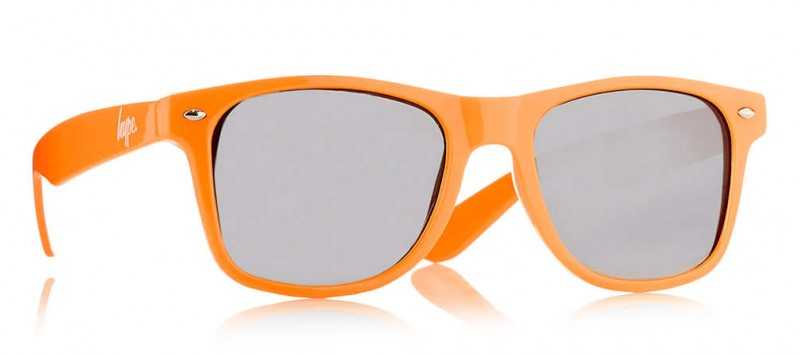 Hype Orange Wayfarer Sunglasses from Topman