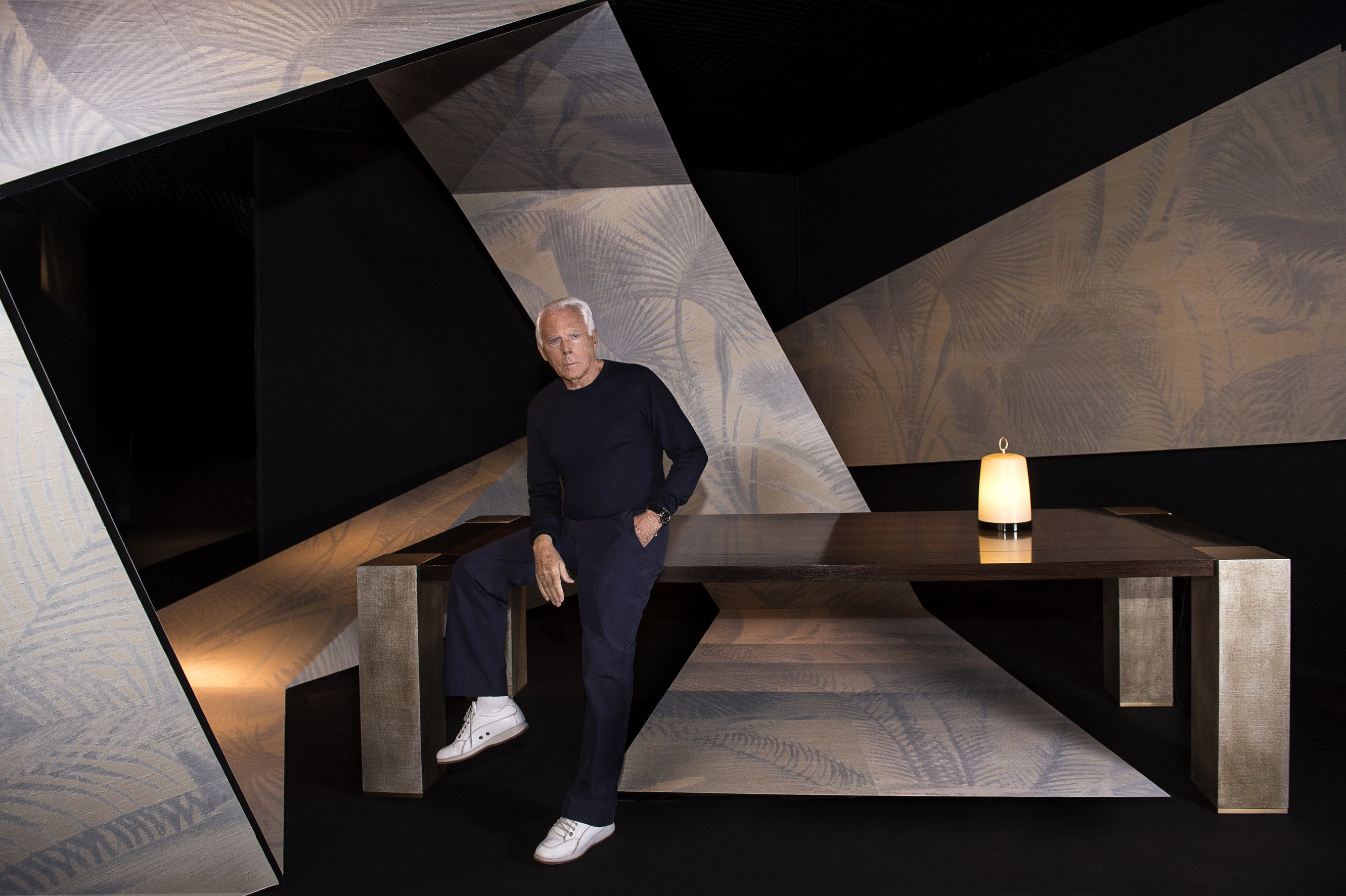 Armani/Casa Exclusive Wallcoverings & Furnishings Collection