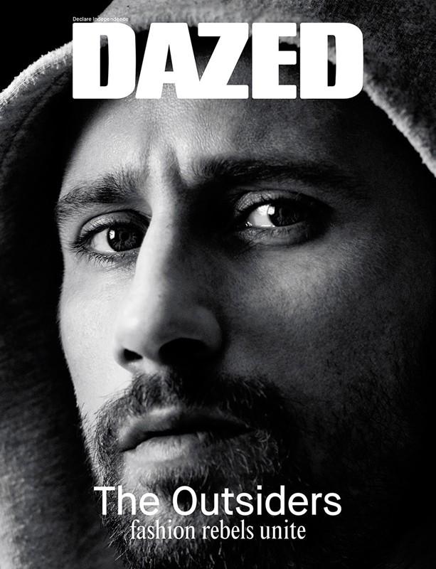 Matthias Schoenaerts Covers Dazed Spring/Summer 2014 Issue