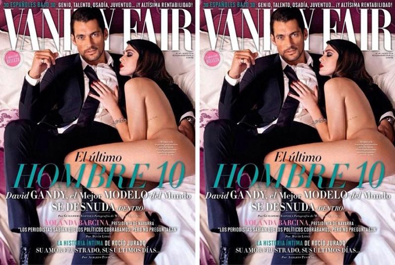 David Gandy Covers Vanity Fair Espana