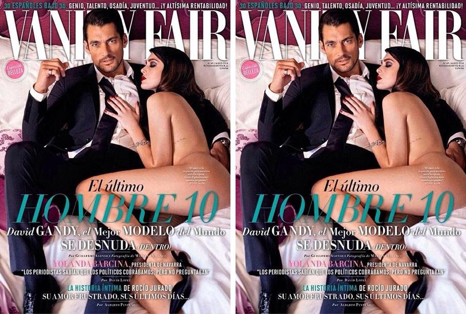 David Gandy Covers Vanity Fair España May 2014 Issue