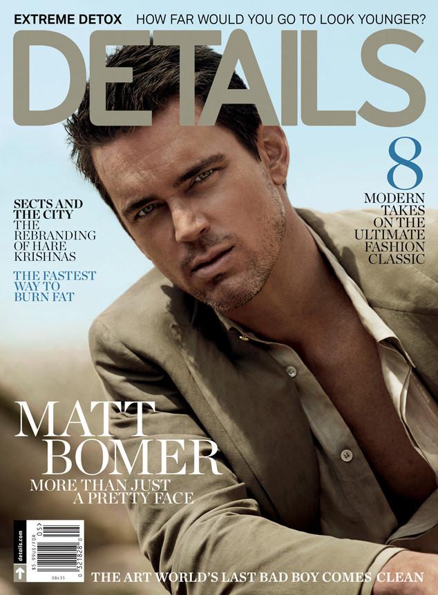 Matt Bomer Details Cover