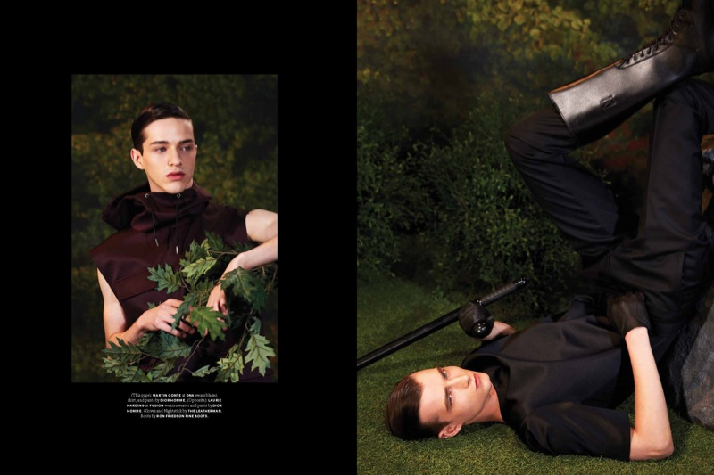 Dior Spring 2014 Feature: Laurie Harding, Stephen James + More for Document Journal