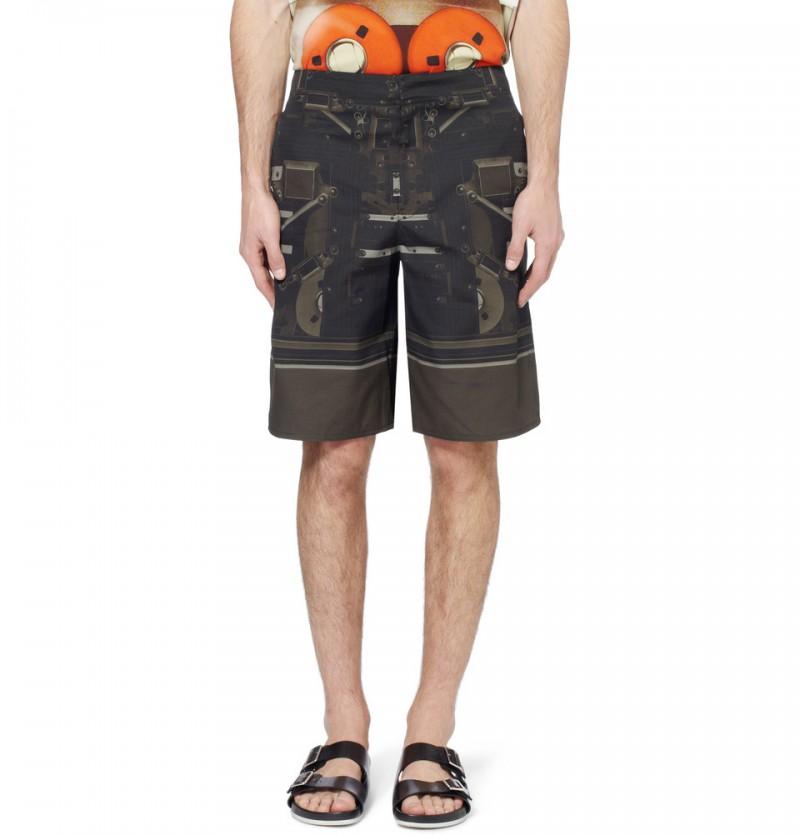 Givenchy Speaker Print Shorts