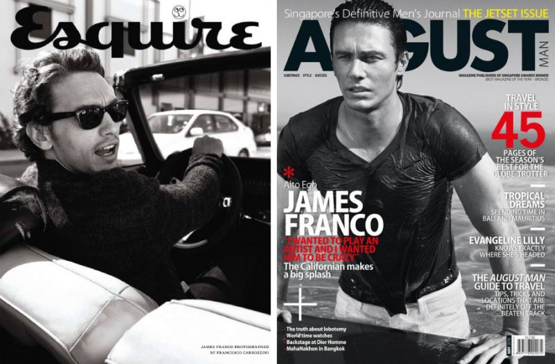 James Franco the Cover Model: From GQ to Vogue