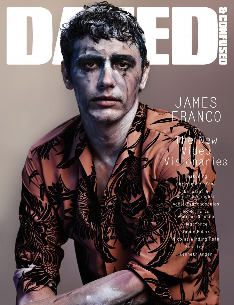 James Franco covers Dazed & Confused December 2013