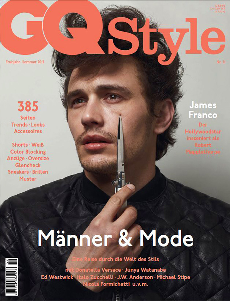 James Franco covers GQ Style Germany Spring/Summer 2012