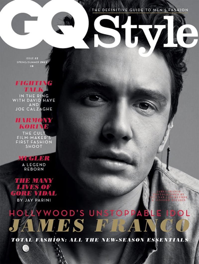 James Franco covers GQ Style UK Spring/Summer 2011