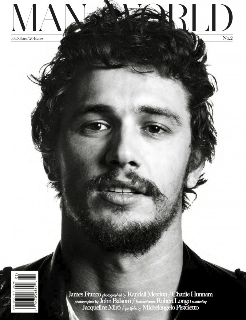James Franco covers Man of the World #2 (February 2013)