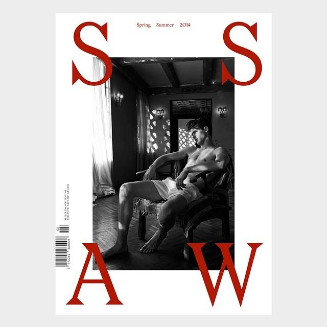 Jamie Wise + Tommaso de Benedictis Cover SSAW Magazine