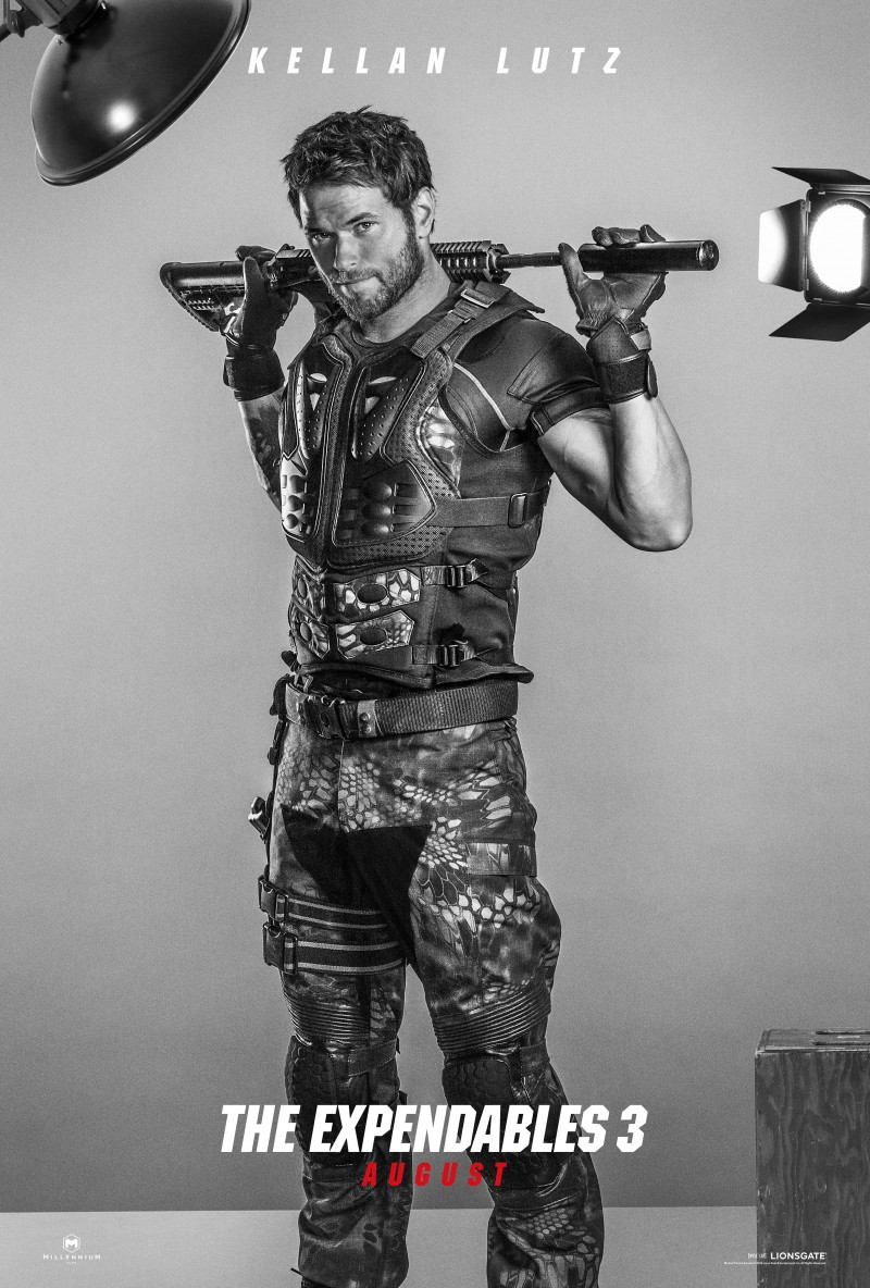 Kellan Lutz for The Expendables 3