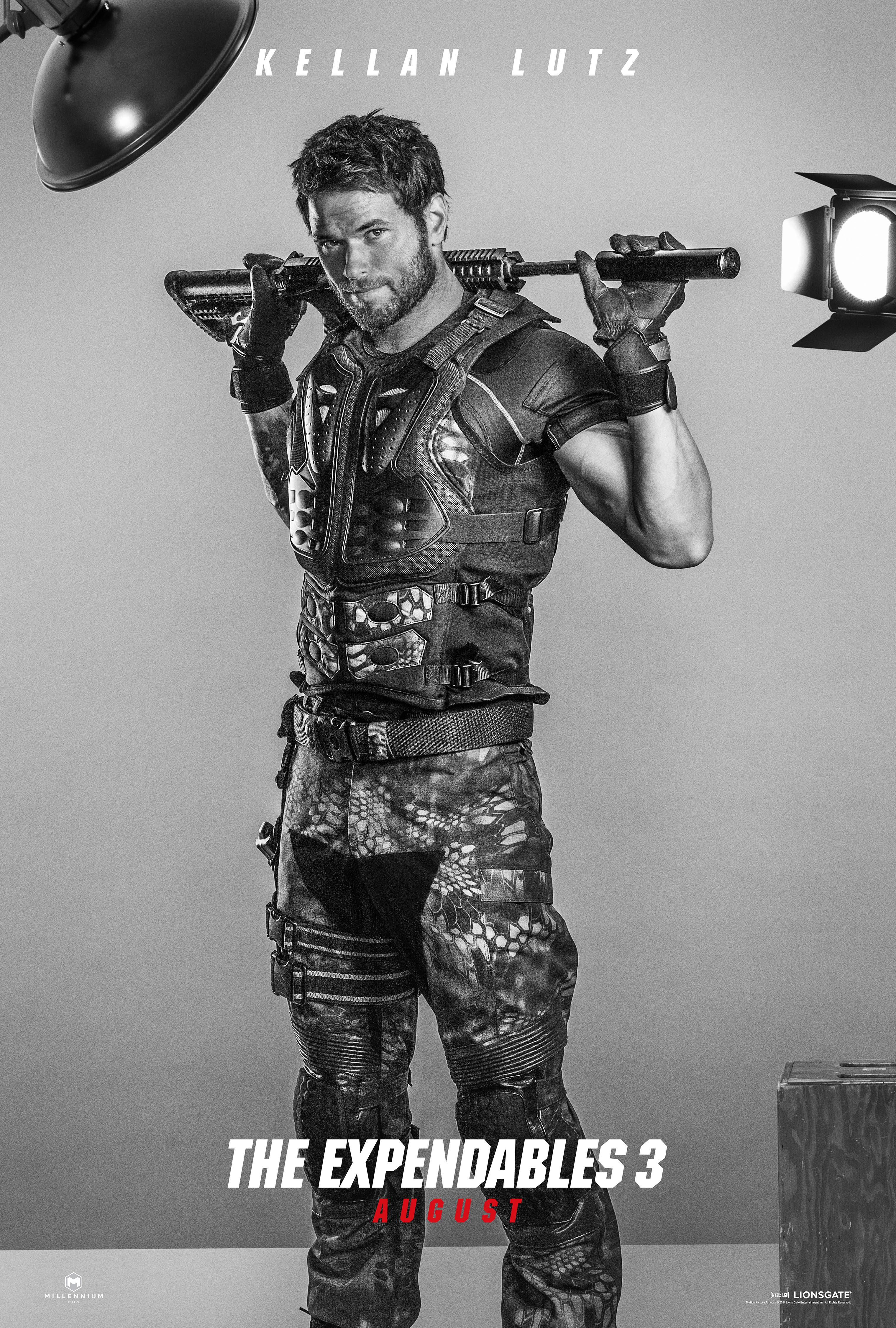 Kellan Lutz for The Expendables 3: Get the Look