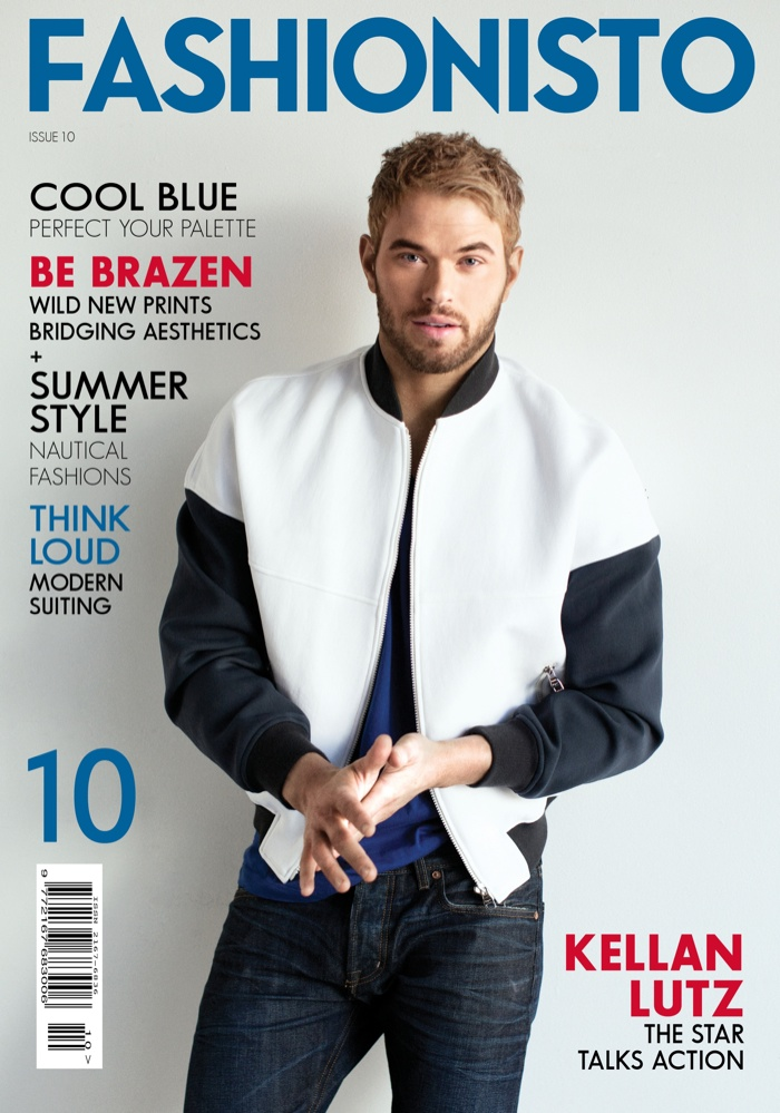 Fashionisto Cover: Kellan Lutz by Yoshino