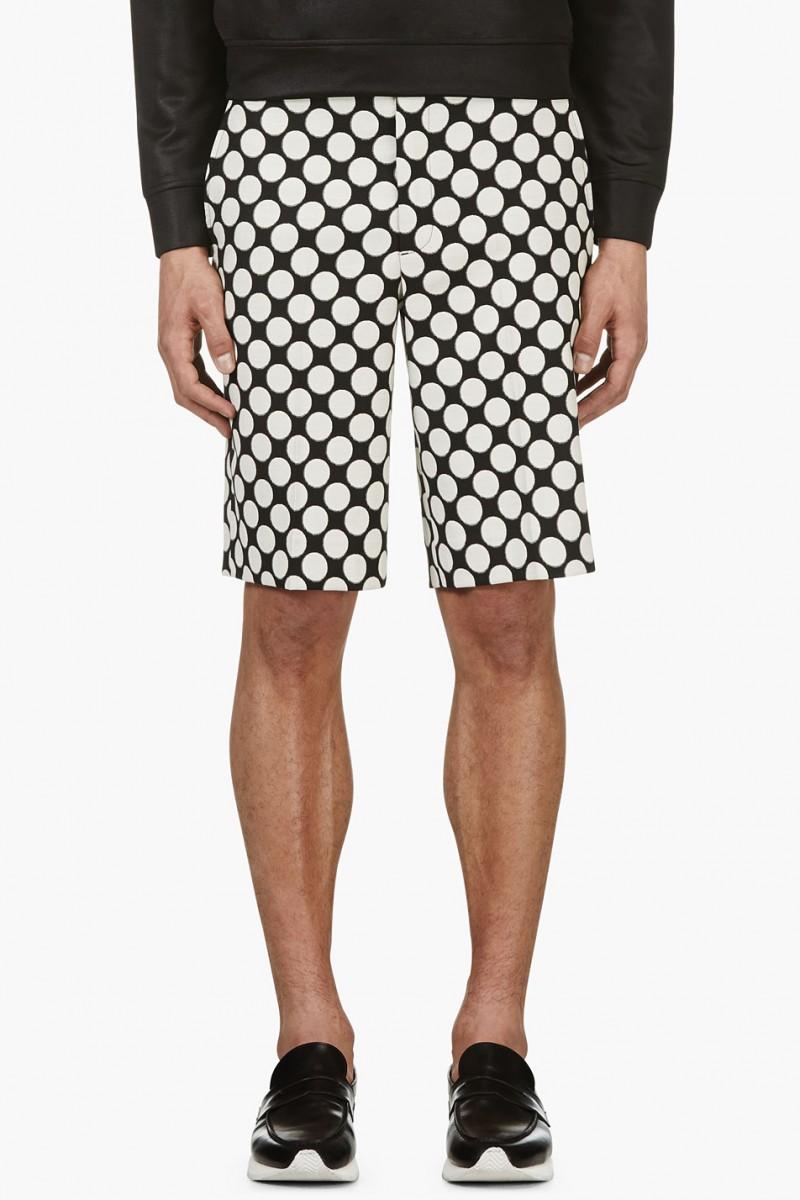 KRISVANASSCHE Polka Dot Shorts