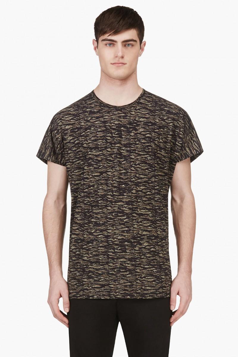Lad Musician Green Tiger Camo T-Shirt