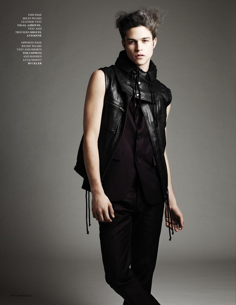 FF: Miles + Richie for Fashionisto