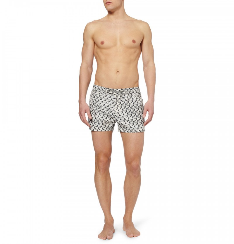 Marc by Marc Jacobs Short-length Printed Swim Shorts