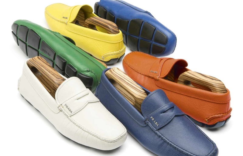 Prada Driving Shoes: Men's Styles for Spring 2014