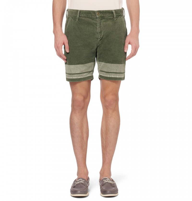 Remi Relief Corduroy Shorts