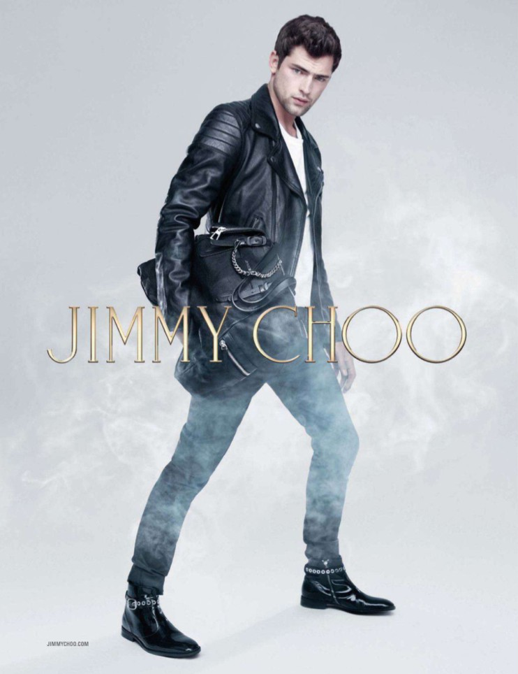 Sean O'Pry for Jimmy Choo