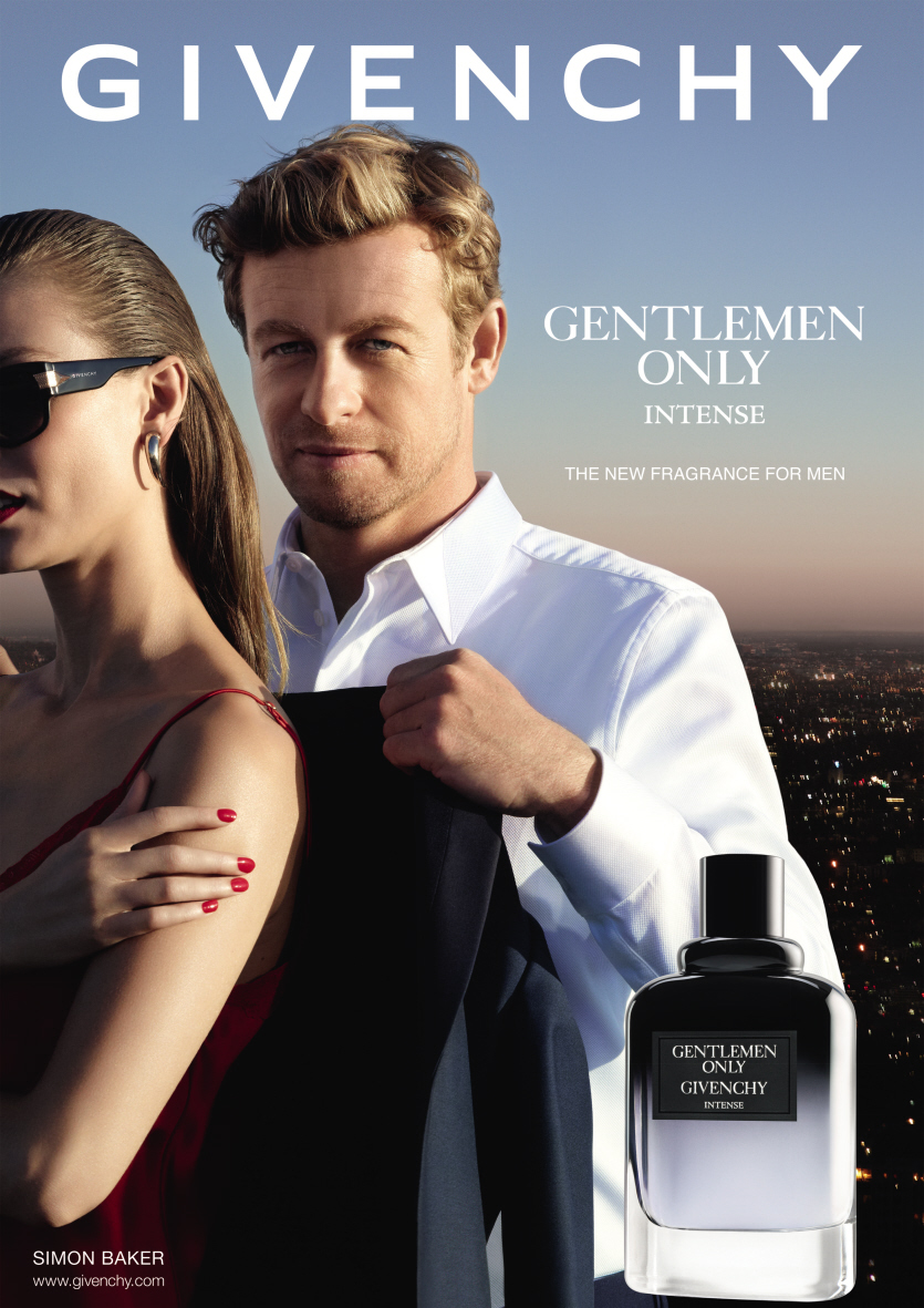 The Mentalist Star Simon Baker Fronts Givenchy Gentlemen Only