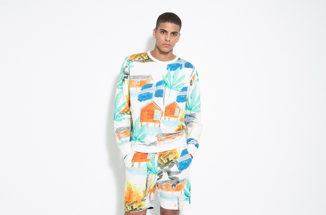 Weed Inspiration: Soulland's Pre-Fall 2014 Collection Sweeden