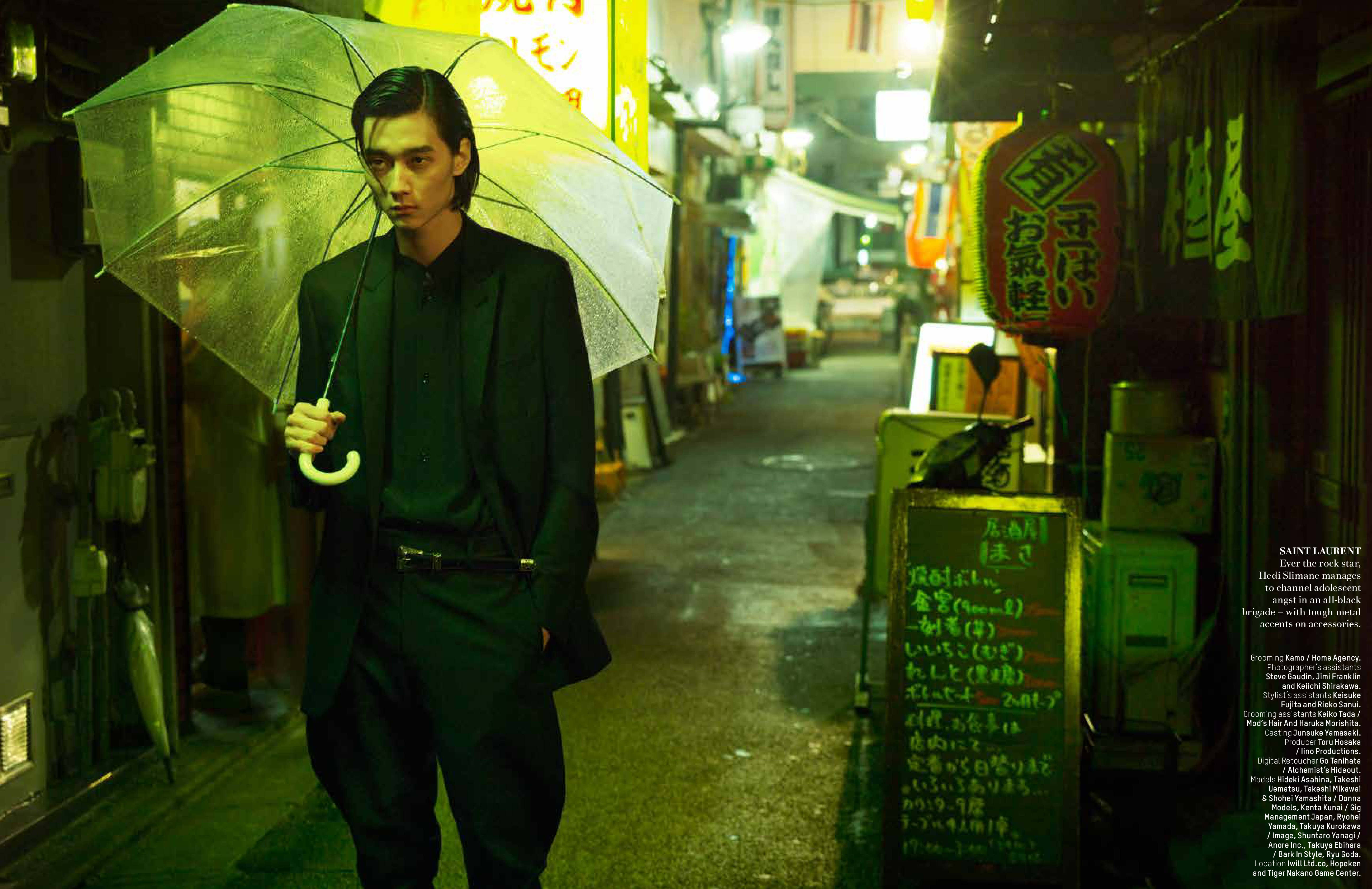 Street Mobsters: Takeshi Uematsu, Ryohei Yamada + More for L'Officiel Hommes Singapore