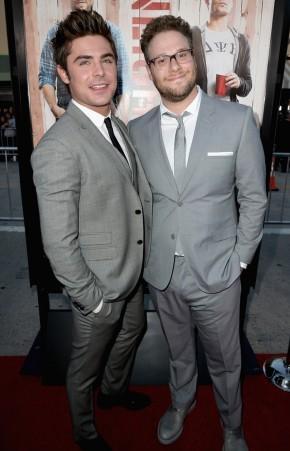 Zac Efron + Seth Rogen