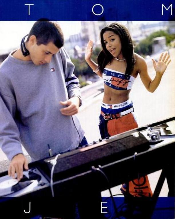 Aaliyah Tommy Hilfiger