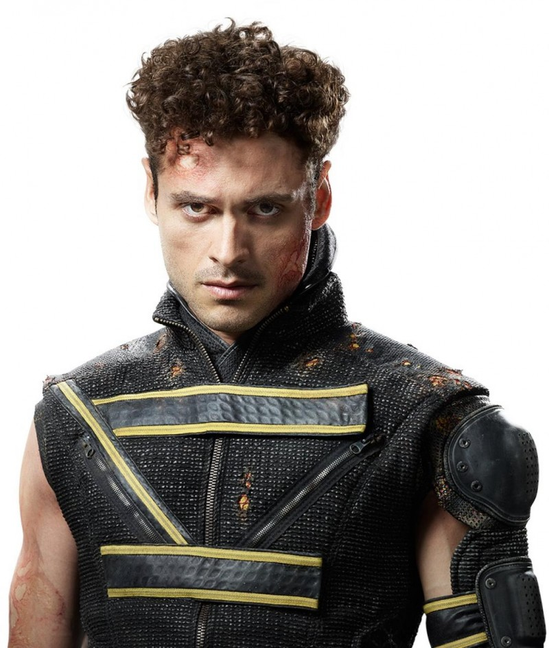 "Adan Canto as Sunspot in ""X-Men: Days of Future Past"""