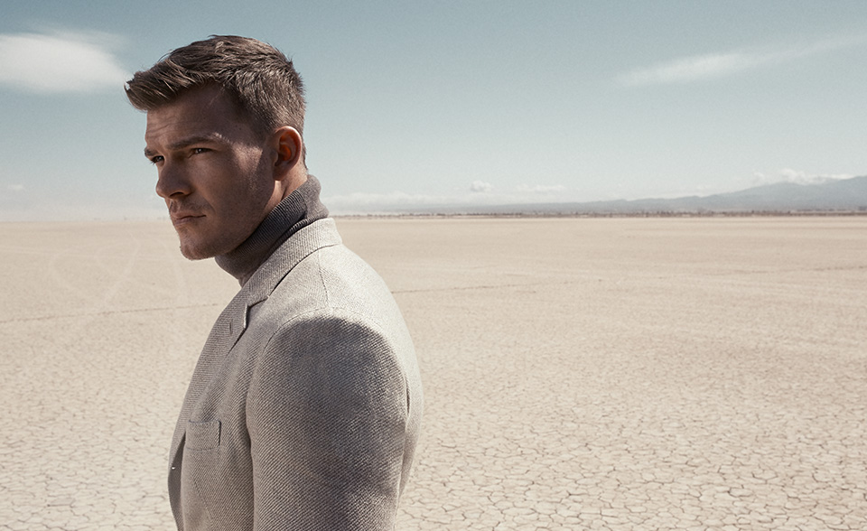Alan Ritchson Suits Up for Mr Porter