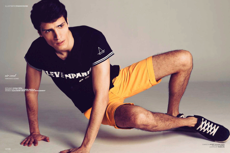 Alexander Ardid is Sir Cool for Avenue Illustrated