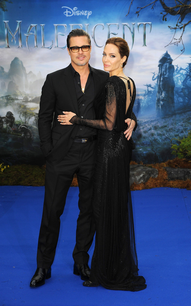 Brad Pitt Angelina Jolie Maleficent